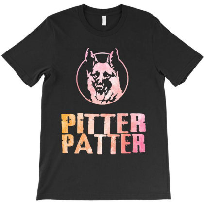 Pitter Patter T-shirt Designed By Trusttees