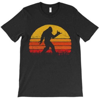 Walking Shaka  Vintage T-shirt Designed By Trusttees