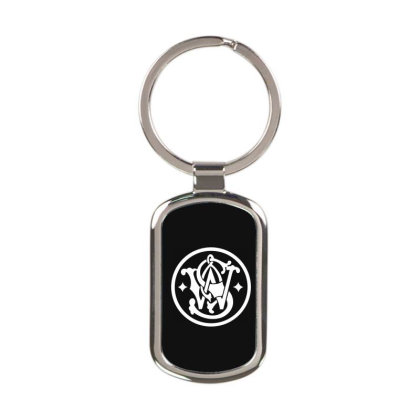 Smith  Wesson Rectangle Keychain Designed By Schulz-12
