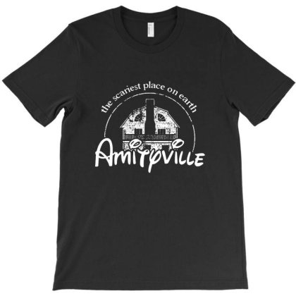 Amityville Horror T-shirt Designed By Dwers