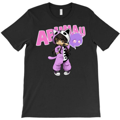 Aphmau As Cat T-shirt Designed By Kessok