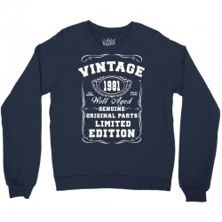 well aged original parts limited edition 1981 Crewneck Sweatshirt | Artistshot
