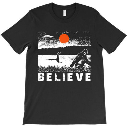 Believe T-shirt Designed By Trusttees