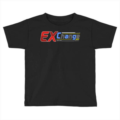 Exchange 1 Toddler T-shirt Designed By Tamiart