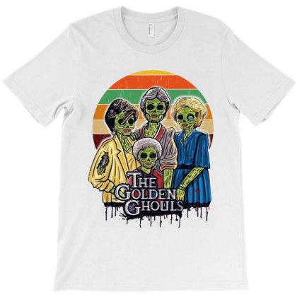Golden Ghouls Vintage T-shirt Designed By Trusttees