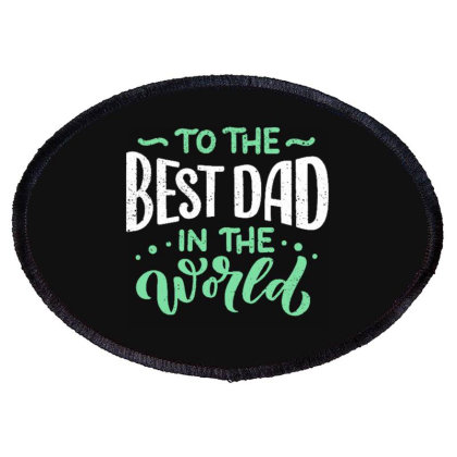 Father S Day Greeting Card Oval Patch Designed By Tamiart