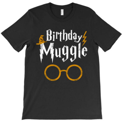 Halloween Birthday Muggle T-shirt Designed By Trusttees