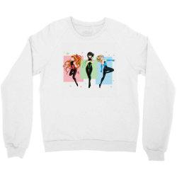 anime blossom, bubbles, buttercup Crewneck Sweatshirt | Artistshot