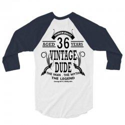 vintage dud 36 years 3/4 Sleeve Shirt   Artistshot