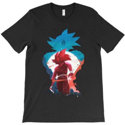 The Saiyan Dbz T-shirt Designed By Trusttees