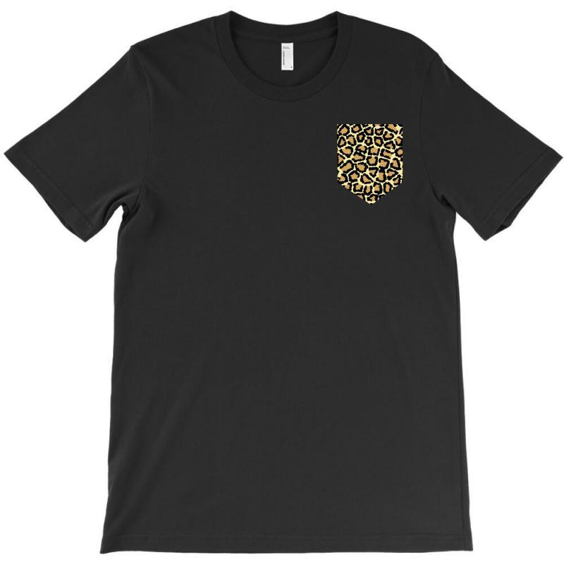 Cheetah Print Pocket T-shirt | Artistshot