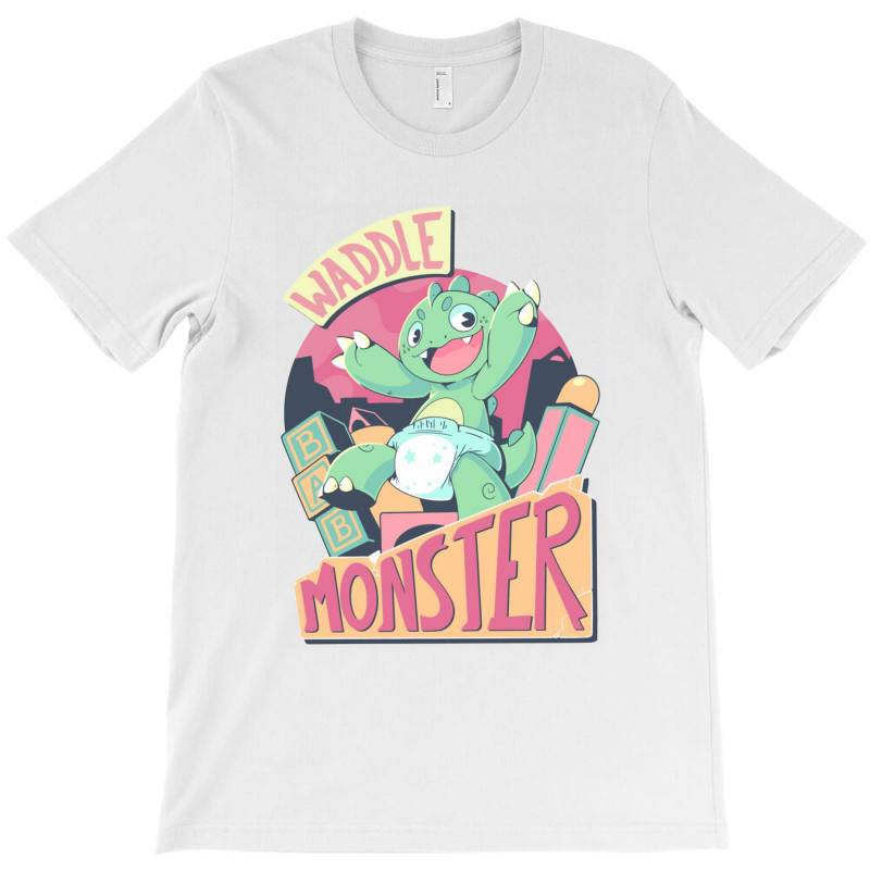 Waddle Monster Scream T-shirt | Artistshot