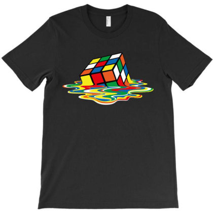 Rubik's Cube T-shirt Designed By Advance Shirt