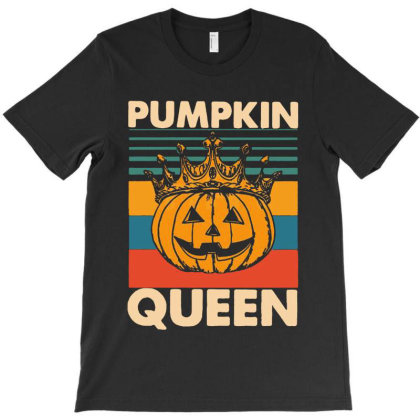 Pumpkin Queen T-shirt Designed By Advance Shirt