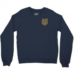 cheetah print pocket Crewneck Sweatshirt | Artistshot