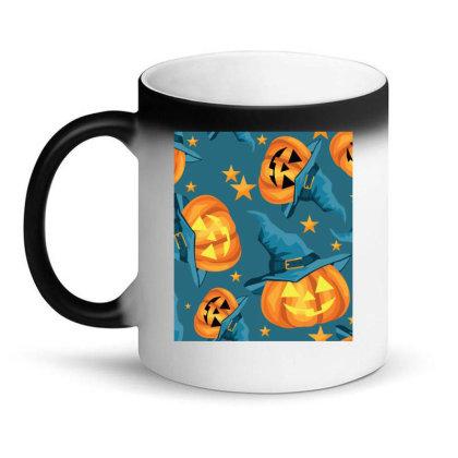 Halloween Pumpkins Magic Mug Designed By Chiks
