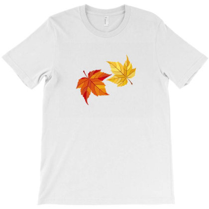 Autumn Leaves T-shirt Designed By Chiks