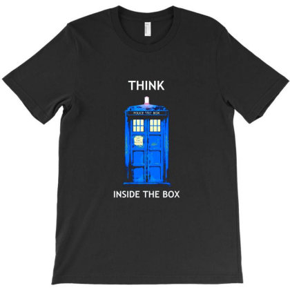 I Think Inside The Box T-shirt Designed By Butler