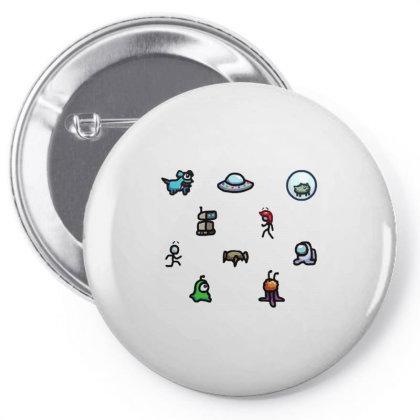 Among Us Plague Pin-back Button Designed By Citra Karinas