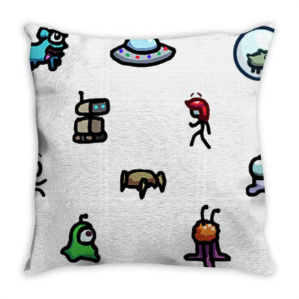 Among Us Plague Throw Pillow Designed By Citra Karinas