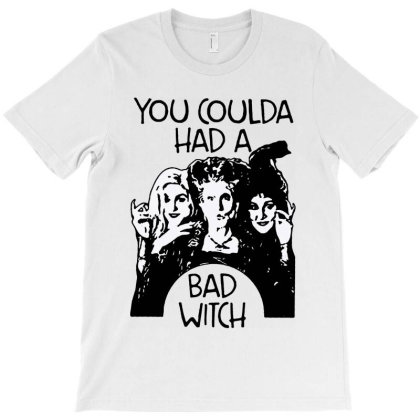 You Coulda Had A Bad Witch Halloween T-shirt Designed By Advance Shirt