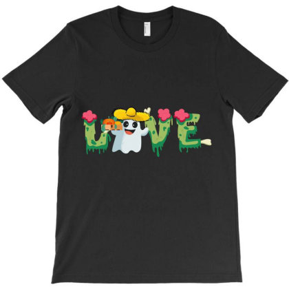 Love Farmer Halloween Holiday Gift T-shirt Designed By Hoainv