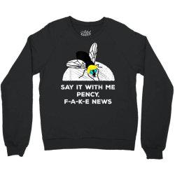debate politics trump fly vote 2020 Crewneck Sweatshirt | Artistshot