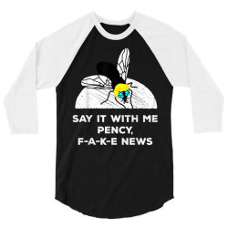 debate politics trump fly vote 2020 3/4 Sleeve Shirt | Artistshot