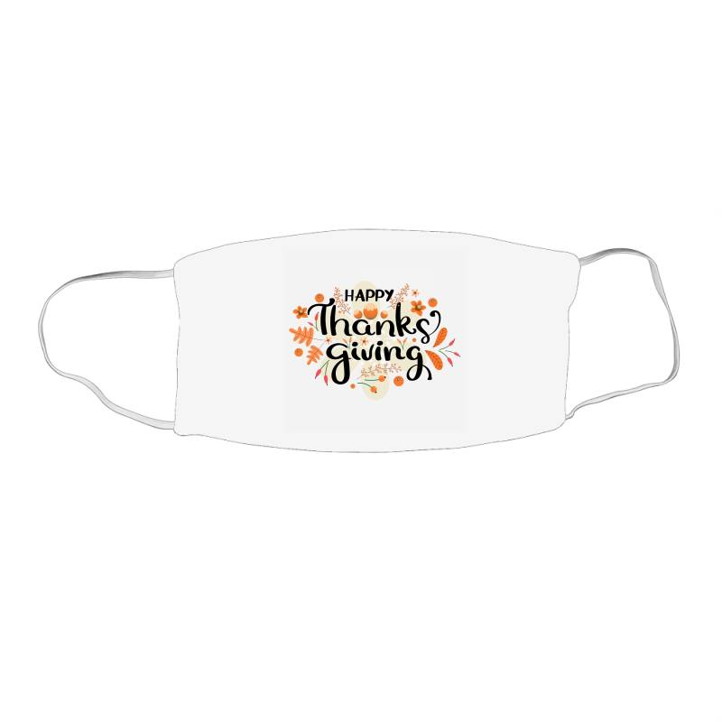 Happy Thanksgiving Day Face Mask Rectangle | Artistshot