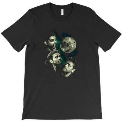 Three Super Moon T-shirt Designed By Brewer