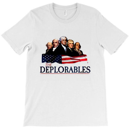 The Deplorables T-shirt Designed By Brewer