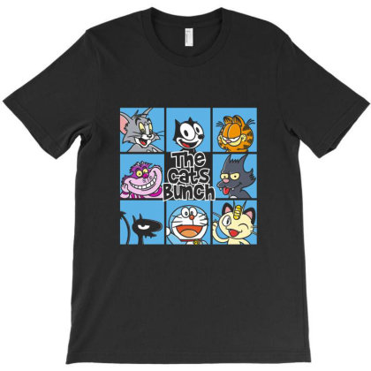 The Cats Bunch T-shirt Designed By Brewer