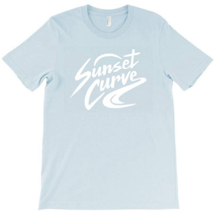 Sunset Curve Band Merch T-shirt Designed By Willo