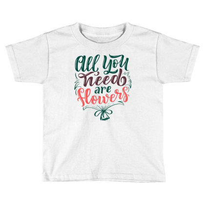 Flowers  1 Toddler T-shirt Designed By Tamiart