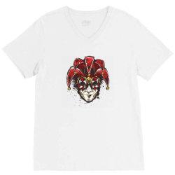 venetian mask – streetwear V-Neck Tee | Artistshot