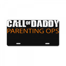 daddy parenting License Plate | Artistshot