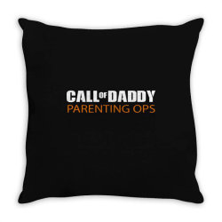 daddy parenting Throw Pillow | Artistshot