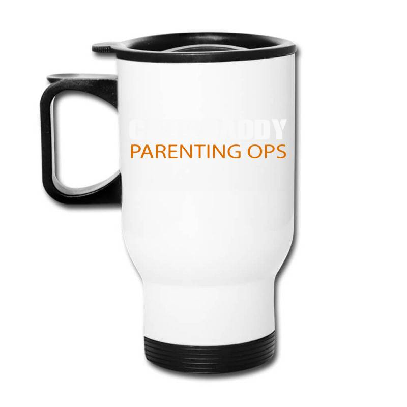 Daddy Parenting Travel Mug | Artistshot