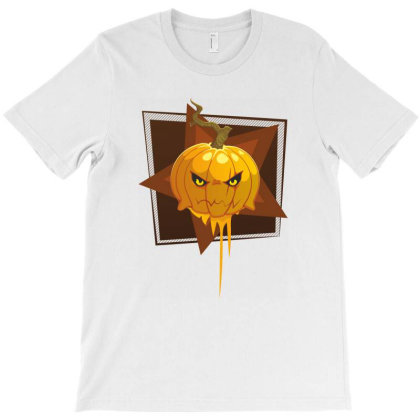 Halloween Pumpkins T-shirt Designed By Chiks