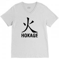 Hokage V-Neck Tee   Artistshot