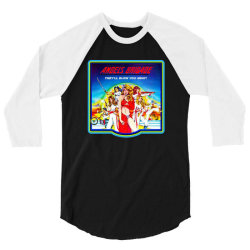 cheese fest angels brigade 3/4 Sleeve Shirt | Artistshot