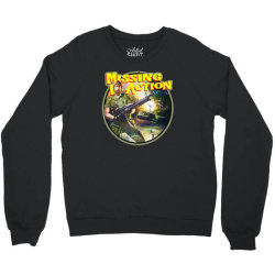 chuck norris missing in action Crewneck Sweatshirt | Artistshot