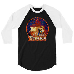 clash of the titans 3/4 Sleeve Shirt | Artistshot