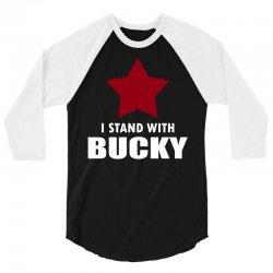 I Stand With Bucky 3/4 Sleeve Shirt | Artistshot