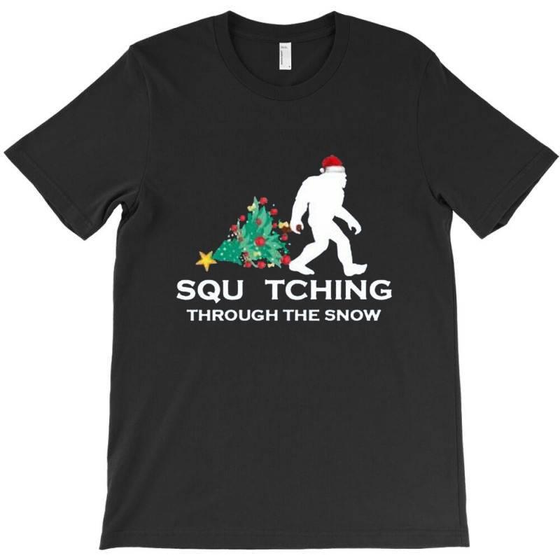 Funny Sasquatch Christmas T-shirt   Artistshot