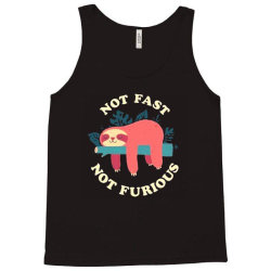 funny sloth not fast not furious Tank Top | Artistshot