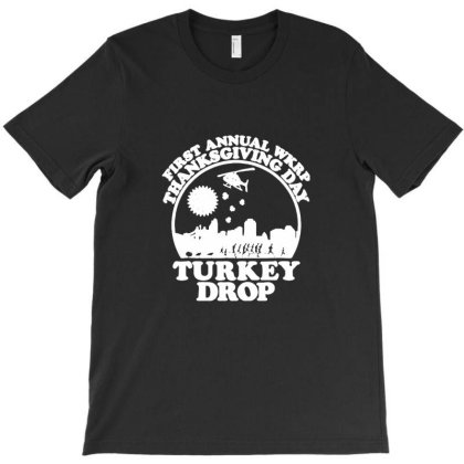 Funny Turkey Thanksgiving Day T-shirt Designed By Albert254