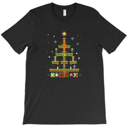Green Hill Christmas T-shirt Designed By Albert254