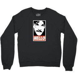 hello Crewneck Sweatshirt | Artistshot