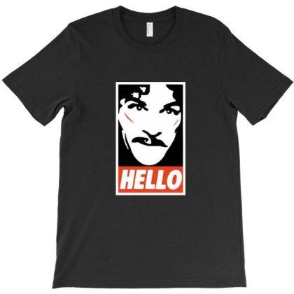 Hello T-shirt Designed By Albert254